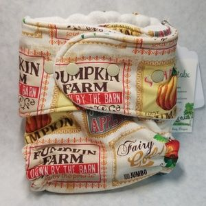 Windpro Fitted Cloth Diaper Cover-Harvest